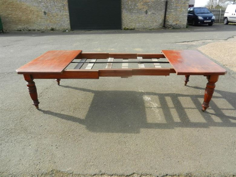 10ft Super Quality Original Late 19th Century Victorian Antique Extending Dining Table By Famous London Makers Maples & Co