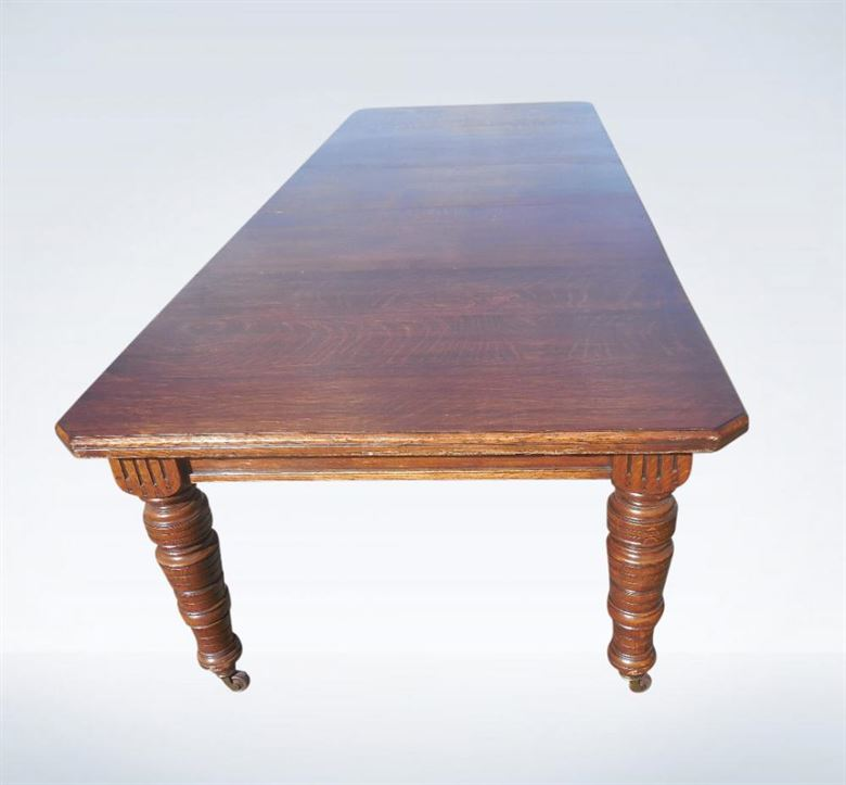 arts and crafts dining table. 10ft Victorian Arts \u0026 Crafts Wind Out Extending Oak Dining Table And 0