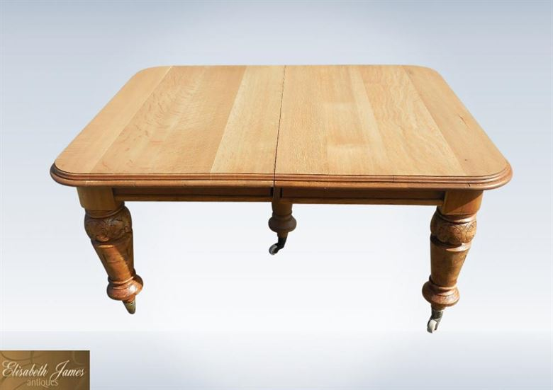 Large antique dining tables 5 metre victorian antique for Dining table to seat 20