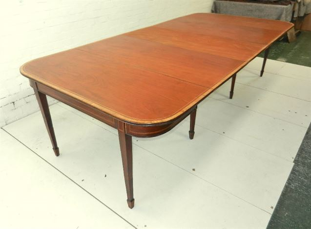 Antique furniture warehouse 18th century mahogany dining for 12 people dining table