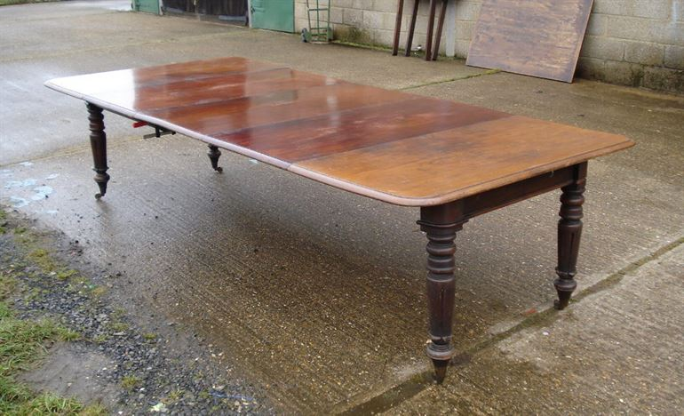 Antique furniture warehouse 3 metre antique dining table for 12 seat dining table