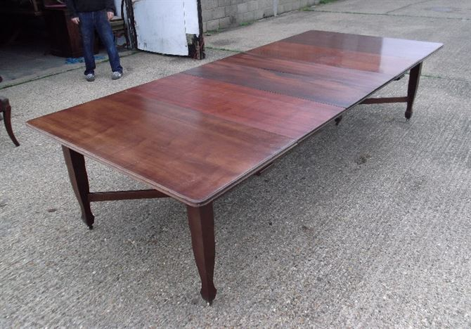 Antique Furniture Warehouse 3 Metre Antique Mahogany