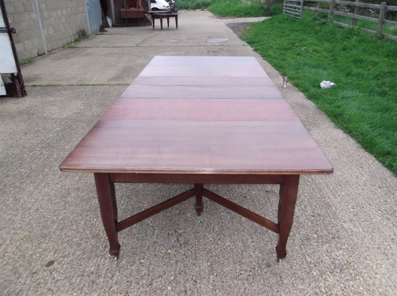 Antique Furniture Warehouse 3 Metre Antique Mahogany Dining Table