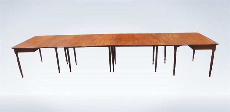 4 Metre Regency Period Mahogany Extending Dining Table