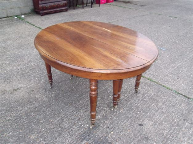 5 Metre Antique Farmhouse Table - Late 19th Century French Walnut Extending Dining Table To Seat 18 People Comfortably