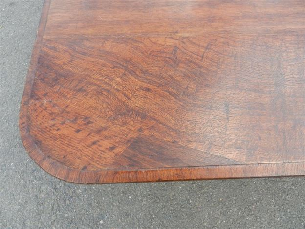 6 Metre Antique Dining Table - 18ft Victorian Pollard Oak Dining Table To Seat 20 Comfortably