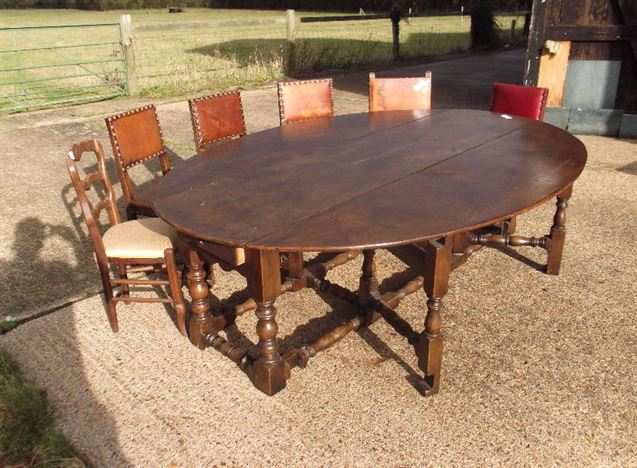 Antique furniture warehouse 8ft antique oval dining for 12 seater oval dining table