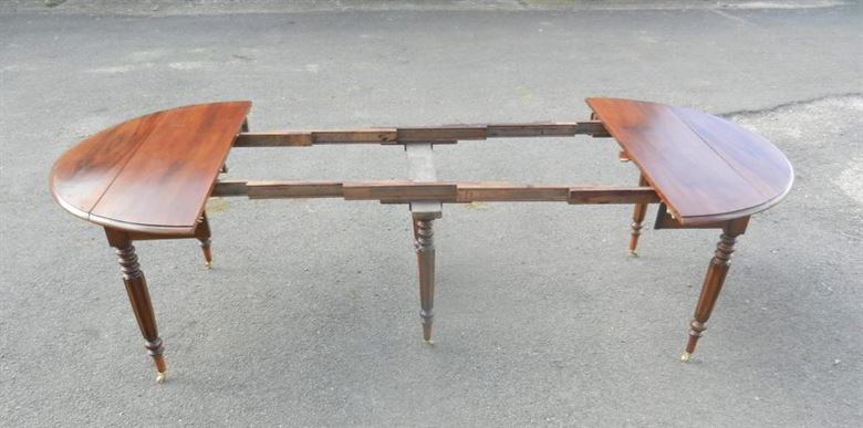 Charming Late 19th Century French Farmhouse Cherry Wood Extending Dining Table