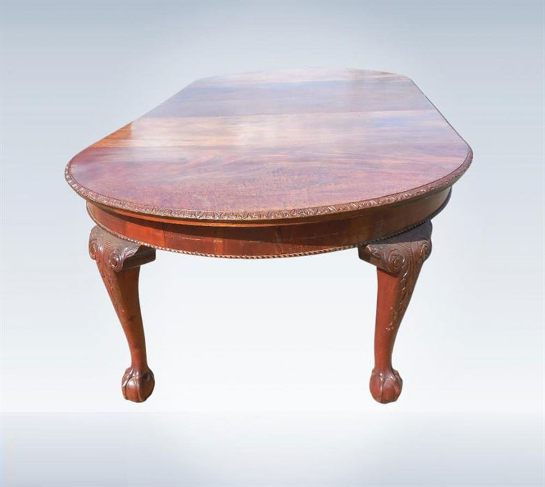 antique furniture warehouse large antique mahogany dining table 3