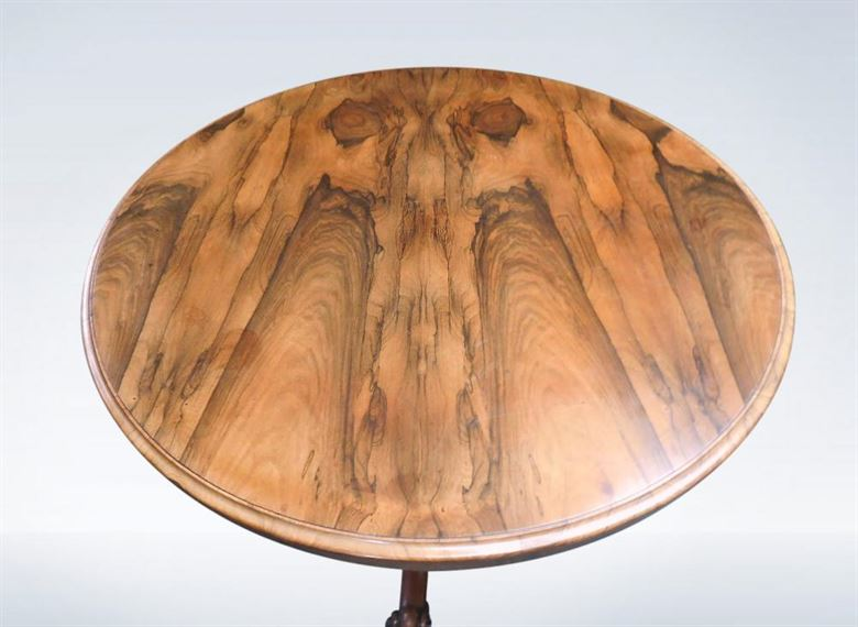 Round Antique Table - Late Regency Rosewood Centre Dining Breakfast Table
