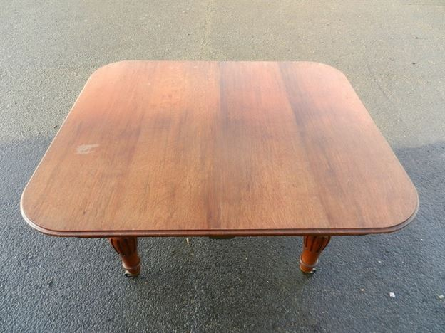 Narrow Victorian Oak Extending Table - 3 Metre Mid 19th Century Oak Extending Dining Table