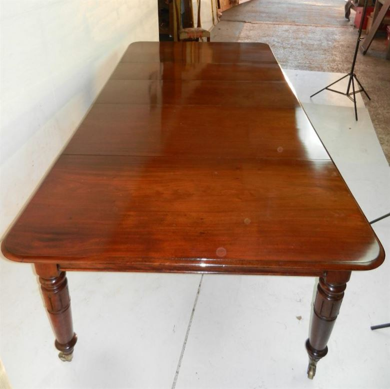 Antique mahogany dining tables uk in our antique furniture for Narrow dining table