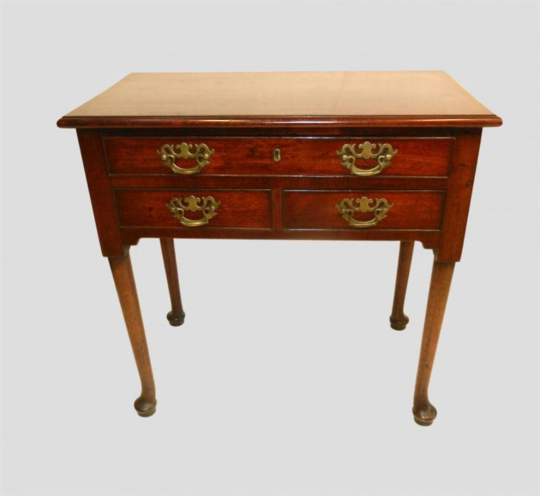 Original 18th Century Georgian Mahogany Lowboy Side Table