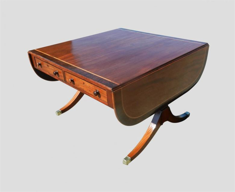 kneehole product antique english desk ladies desks walnut