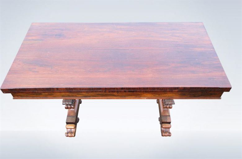 Rare Regency Period Bridge Card Table