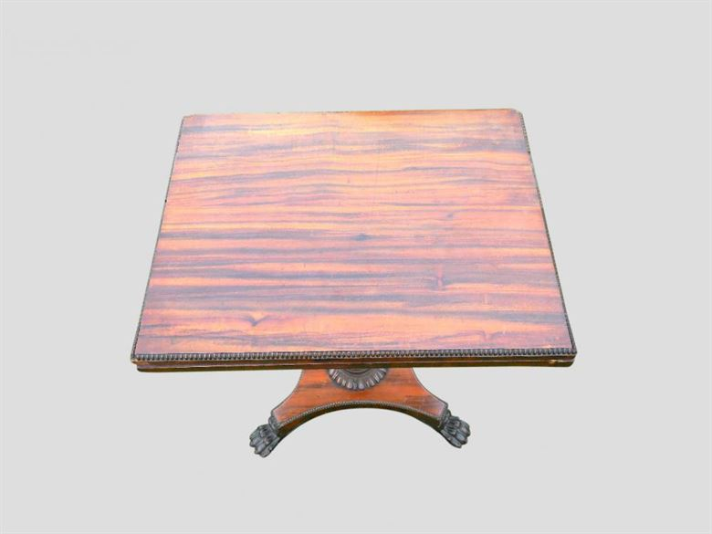 Regency Gaming Table Of Small Proportions By Gillows Of Lancaster