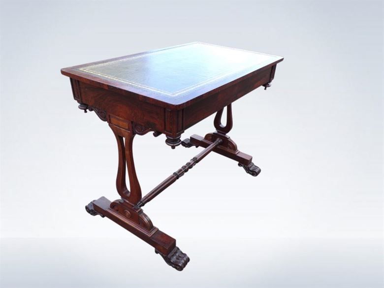 Small Regency Period Writing Library Table
