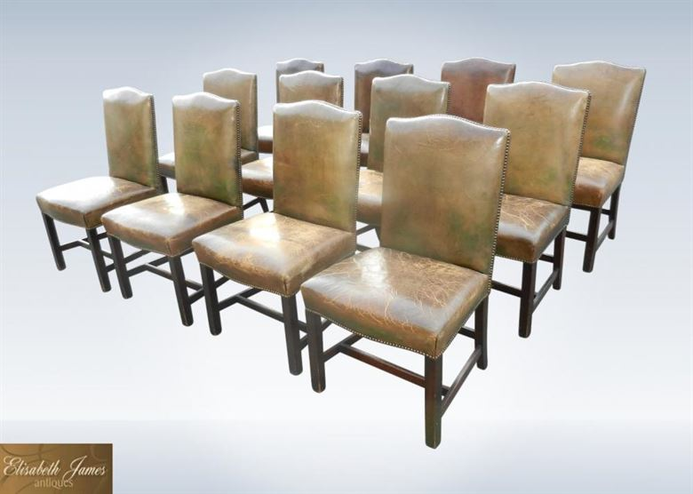 Antique Furniture Warehouse Antique Dining Chair Set Of