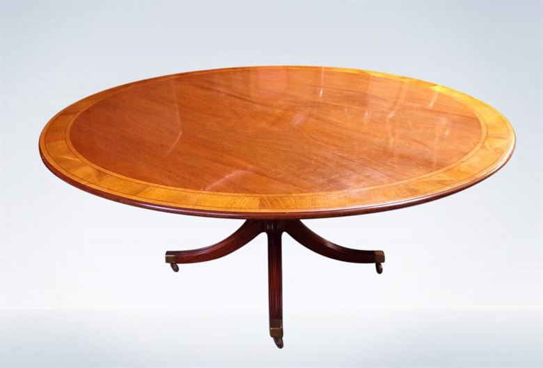 5ft Diameter Regency Dining Table