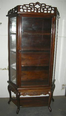 Antique furniture warehouse antique chinese display for Antique display cabinet
