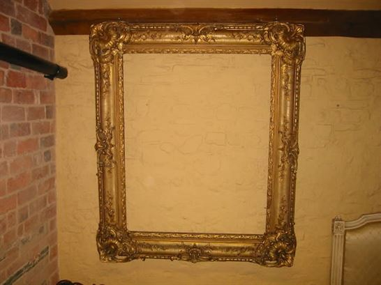 19th century rococo antique gilt frame antique picture frame uk. Black Bedroom Furniture Sets. Home Design Ideas
