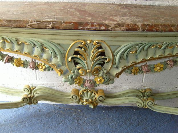 ANTIQUE FURNITURE WAREHOUSE Antique Hall Console Table Large