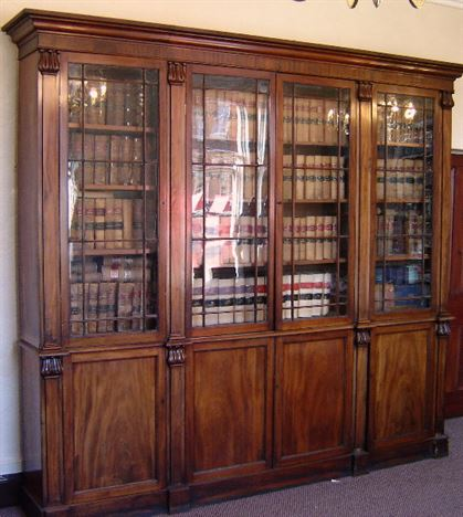 Mahogany Home Library Office: ANTIQUE FURNITURE WAREHOUSE