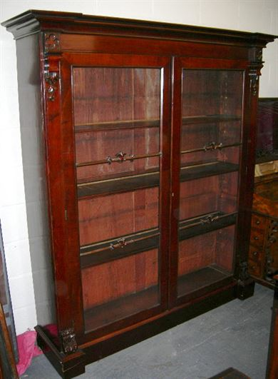 Antique Furniture Warehouse Antique Mahogany Library