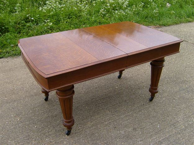 Antique Furniture Warehouse Antique Narorrow Table 3ft