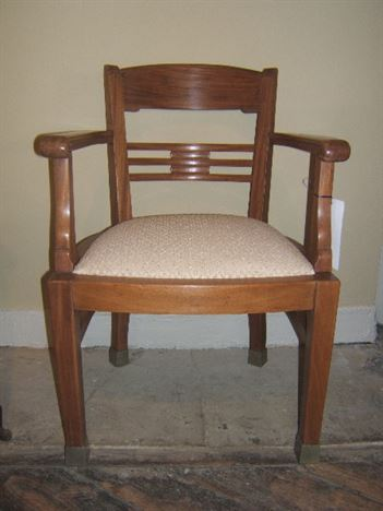 Antique Office Chairs   Early 1900s Mahogany Office Desk Chair