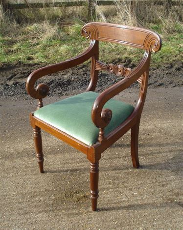 Antique Set 6 Georgian Chairs - Set Of Six Regency Bar Back Mahogany Dining  Chairs With - ANTIQUE FURNITURE WAREHOUSE - Antique Set 6 Georgian Chairs - Set Of