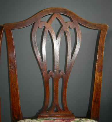 Chippendale Chairs Antique Antique Country Chippendale