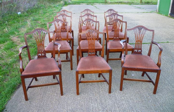 antique furniture warehouse antique set twelve georgian chairs set