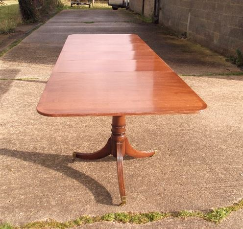 Antique furniture warehouse georgian pedestal dining for 12 people dining table