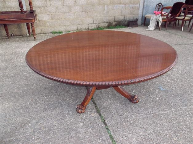 Antique furniture warehouse huge antique round table for 10 people table