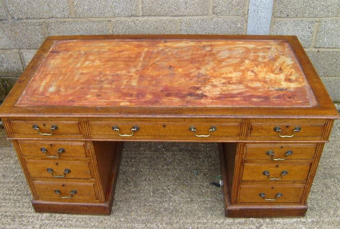 Antique Oak Desk Antique Furniture