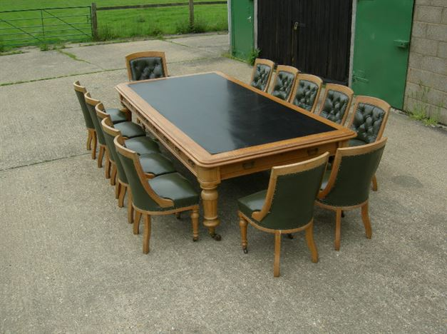 antique furniture warehouse large antique boardroom table 19th