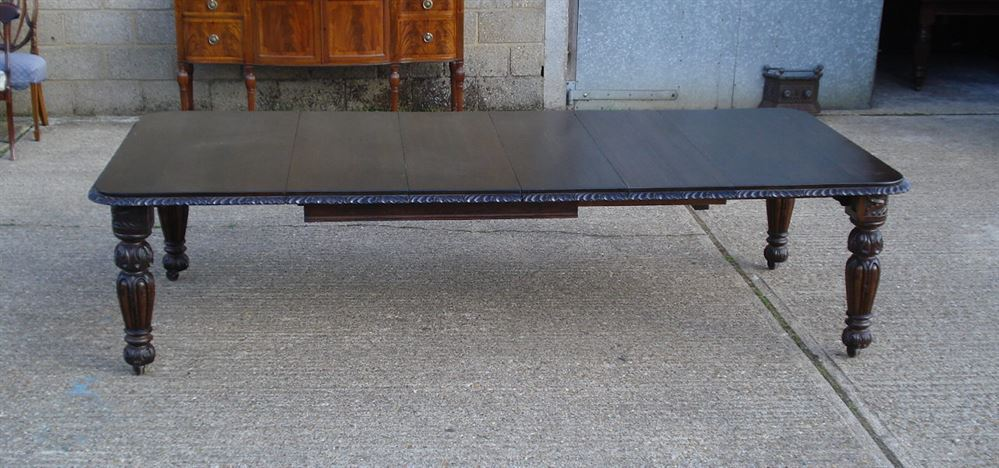 ANTIQUE FURNITURE WAREHOUSE Large Antique Dining Table 10ft 3 Metre Victo