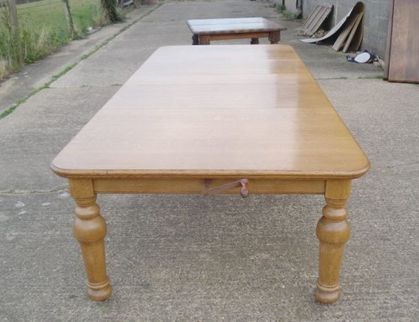 ANTIQUE FURNITURE WAREHOUSE Large Antique Dining Table 11ft 3 3 Metre Vic