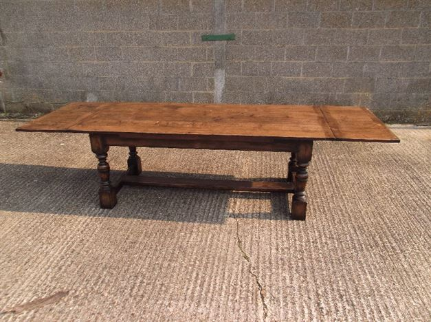 Antique Dining Room Tables For Sale Uk ANTIQUE FURNITURE WAREHOUSE Large Antique Oak Dining Table 10ft
