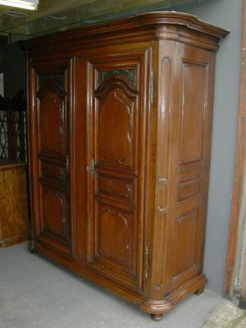 Antique Furniture Warehouse Large Antique Oak Wardrobe