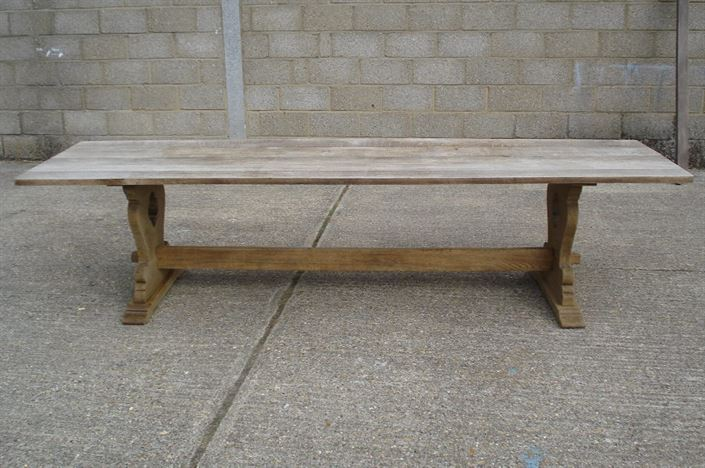 Antique furniture warehouse large antique refectory for 10ft dining table
