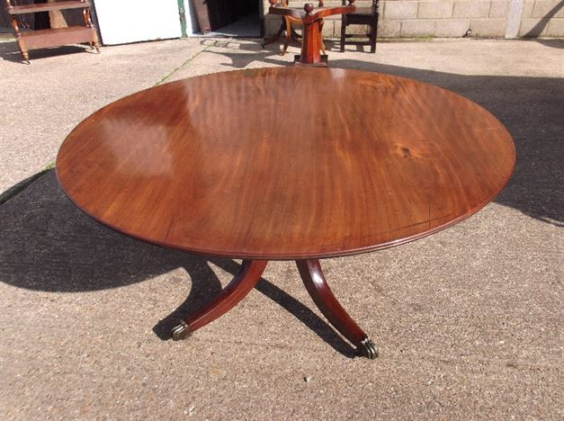 Antique Furniture Warehouse Large Antique Round Table