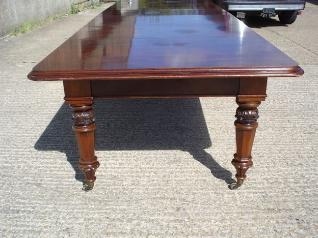 Large Early 19th Century Dining Table 12 Feet 7 Inches William IV Mahogany