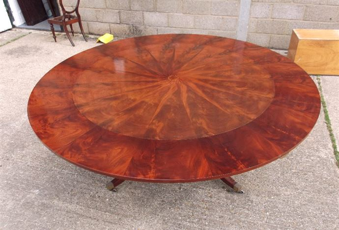 Antique Furniture Warehouse Large Round Antique Table