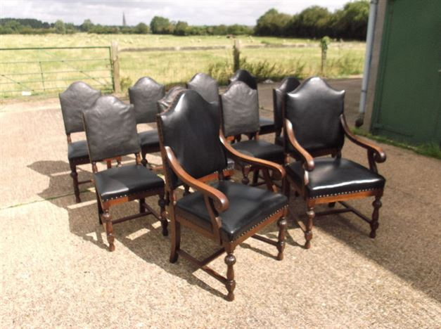 Antique Furniture Warehouse Large Set Of Antique Dining
