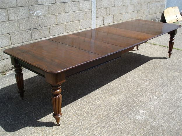 Antique Furniture Warehouse Long Antique Dining Table