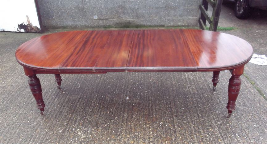 Antique furniture warehouse narrow 3 metre antique for 12 people dining table
