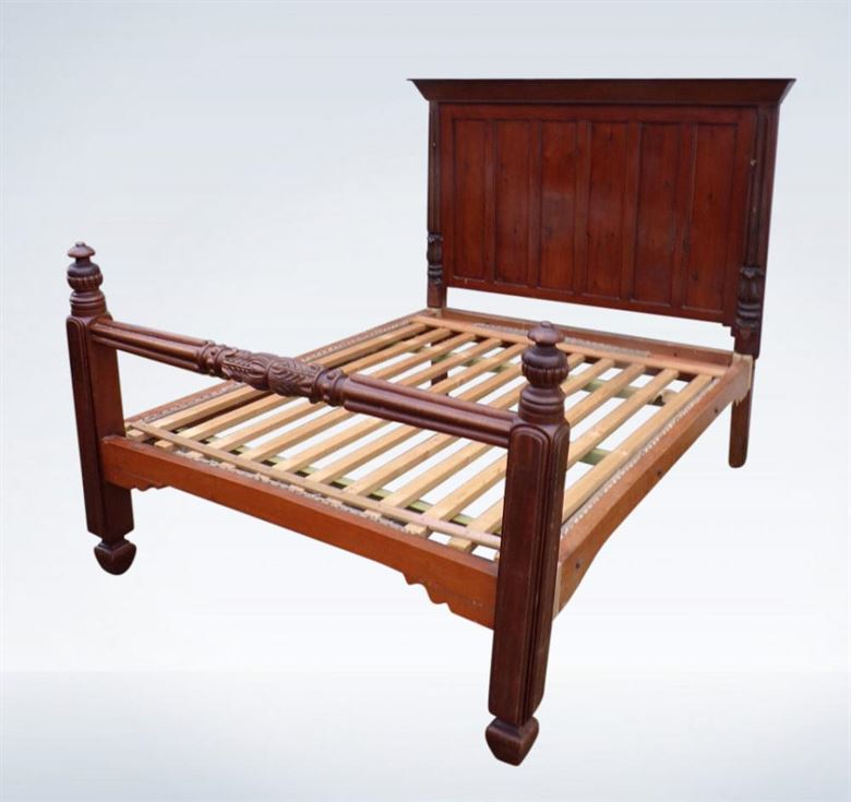 Original Regency Period Mahogany 5ft King-size Double Bed