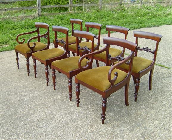 Set Regency Dining Chairs